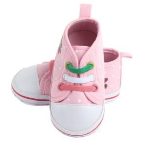 kids polka dot pattern shoes
