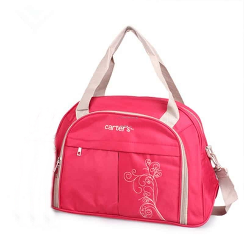 Carters Multifunctional Diaper Bag Pink