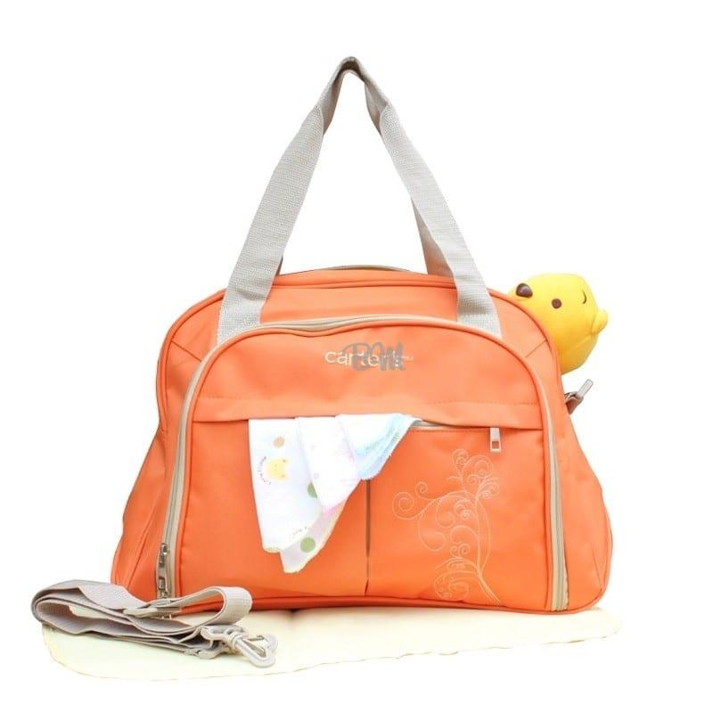 Carters Multifunctional Diaper Bag Orange