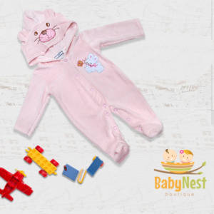 baby hooded romper in pakistan