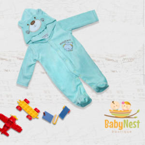 baby elephant fleece romper in pakistan