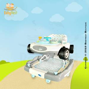 Infant Grey Car Walker for Babies
