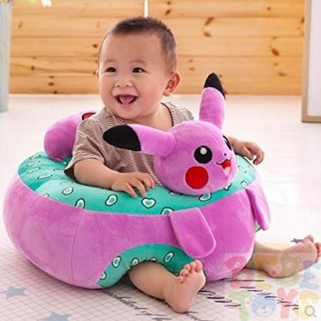 Pikachu Children/'seat  Baby Support Seat Sit Up Soft Chair Infant Seat
