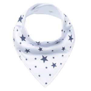 Star Print Bandana Bib for Baby