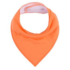Orange Bandana Bib for Baby