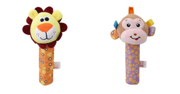 Baby Rattle and Squeeze Toy