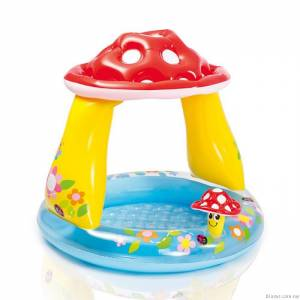 Intex Inflatable Mushroom Baby Pool in Pakistan