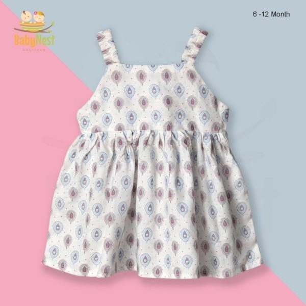 Buy Baby Casual Frocks for 6-12 Month