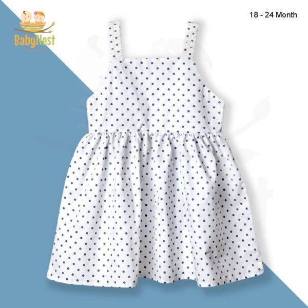 Sleeveless Frocks New Design for Baby Girls