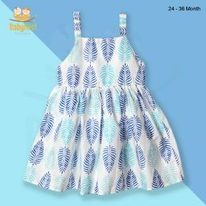 Sleeveless Cotton Frocks for Baby Girl
