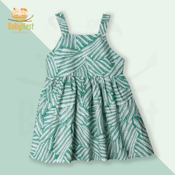 Baby Sleeveless Frocks Collection in Pakistan