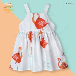 Casual Baby Frock for 12-18 Months