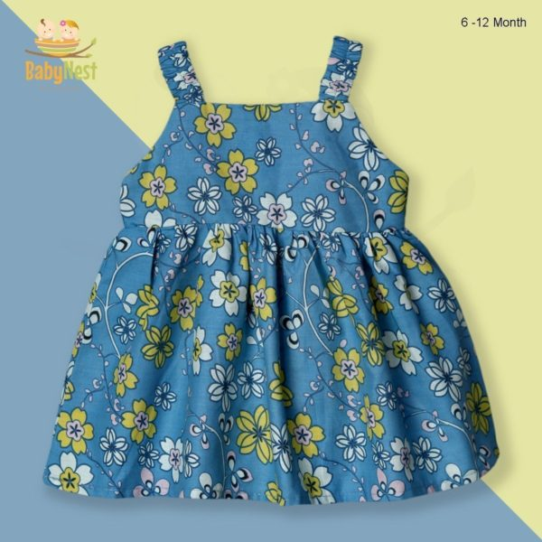 Buy Sleeveless Casual Frocks for Baby Girls
