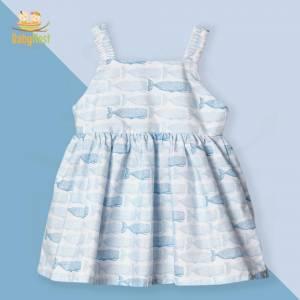 Sleeveless Frocks Online for Baby Girl