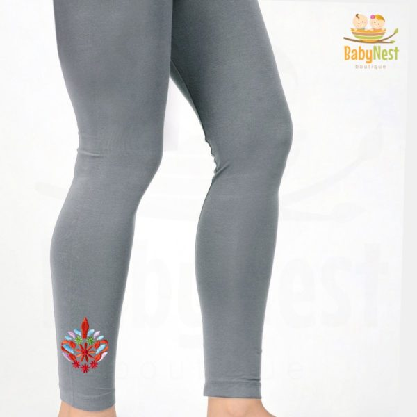 Girls Plain Cotton Tights