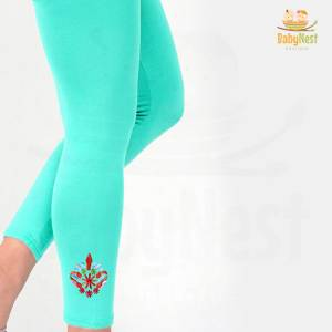 Embroidered Tights for Girls