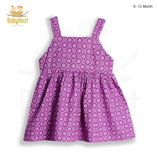 Baby Sleeveless Floral Frock