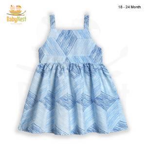Baby Sleeveless Cotton Dress in Pakistan