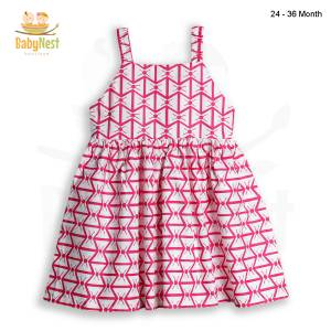 Baby Sleeveless Cotton Frocks