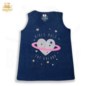 Baby Girl Glitter Print T-shirt in Pakistan