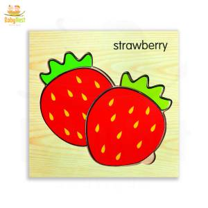 Strawberry Puzzle Toy for Kids