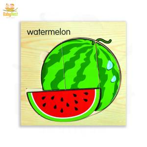 Watermelon Puzzle Toy for Kids