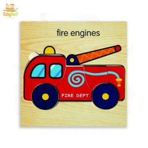 Fire Engines Puzzle Toy for Kids