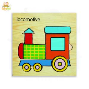 Locomotive Puzzle Toy for Kids
