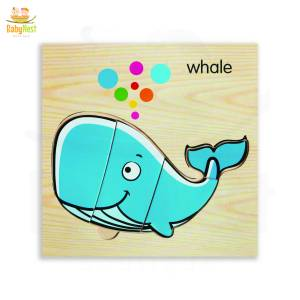Whale Puzzle Toy for Kids