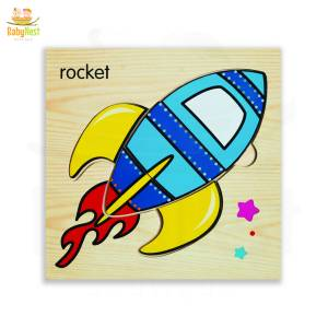 Rocket Puzzle Toy for Kids