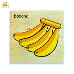 Banana Puzzle Toy for Kids