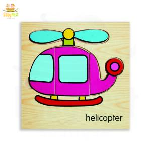 Helicopter Puzzle Toy for Kids