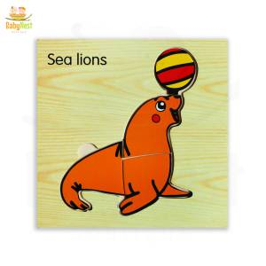Sea Lion Puzzle Toy for Kids