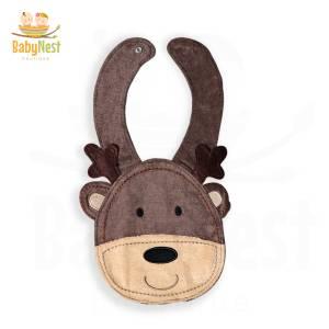 Reindeer Drool Baby Bibs
