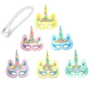 Unicorn Masks for Birthday Party