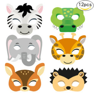Animal Masks For Birthday Party