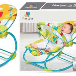 Mastela 2 in 1 Newborn to toddler Rocker
