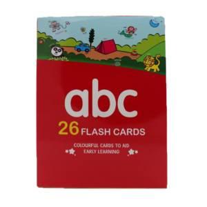 ABC Alphabet Book with 26 Flash Cards