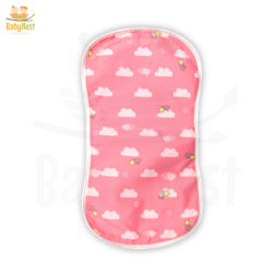 baby burp cloths - cloud print burp cloths