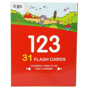 123 Numeral Flashcards