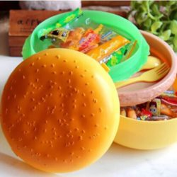 burger shaped lunch box for baby