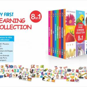 My First Learning Collection Books 8 in 1