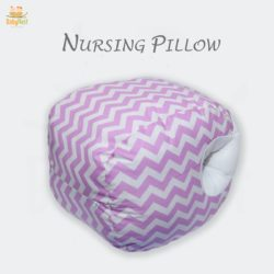 zig zag printed nursing pillow for babies